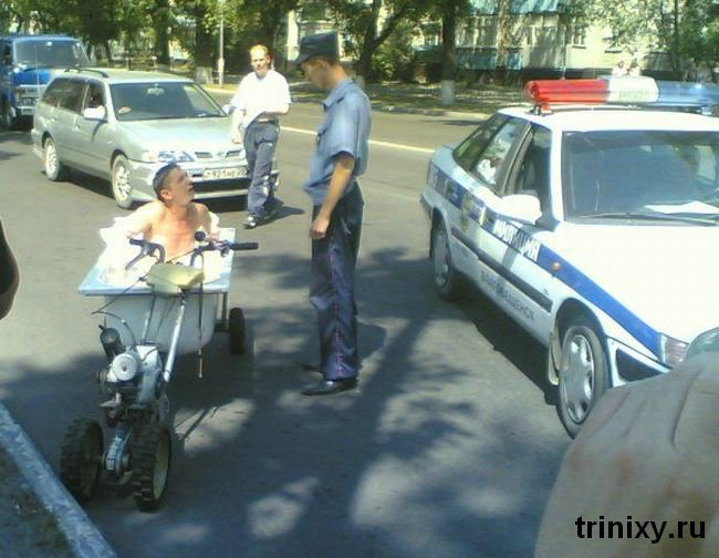 Russian road police 1