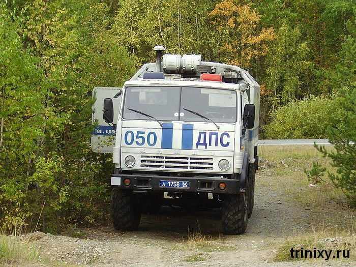 Russian road police 22