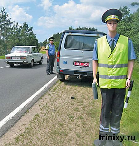 Russian road police 23