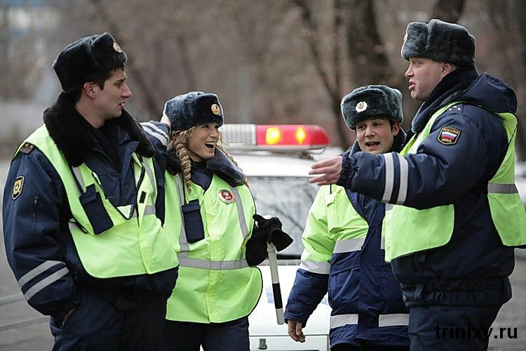 Russian road police 24