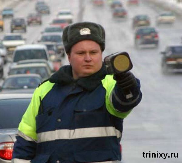 Russian road police 29