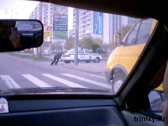 Russian road police 31