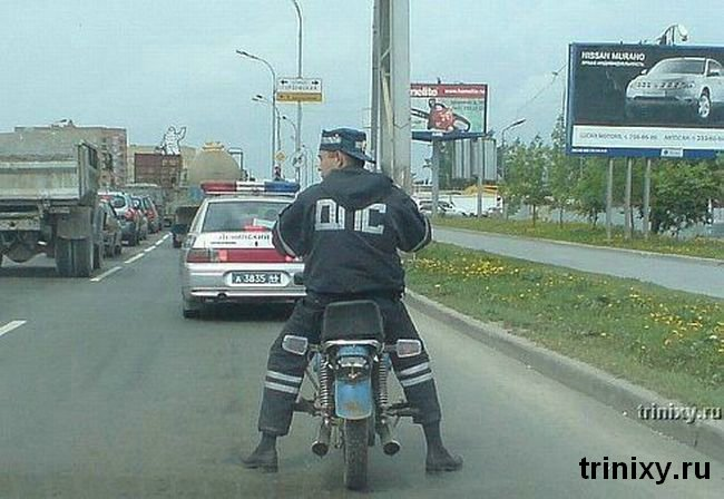 Russian road police 35