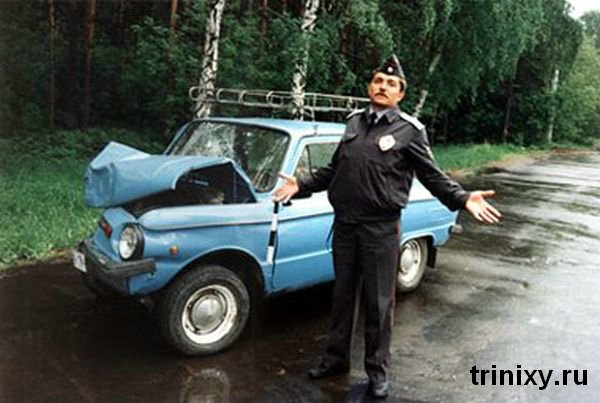 Russian road police 37