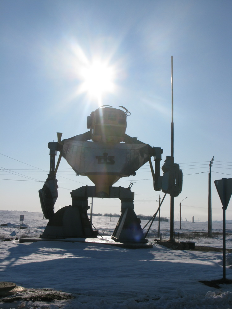 Russian robot in Odessa 4