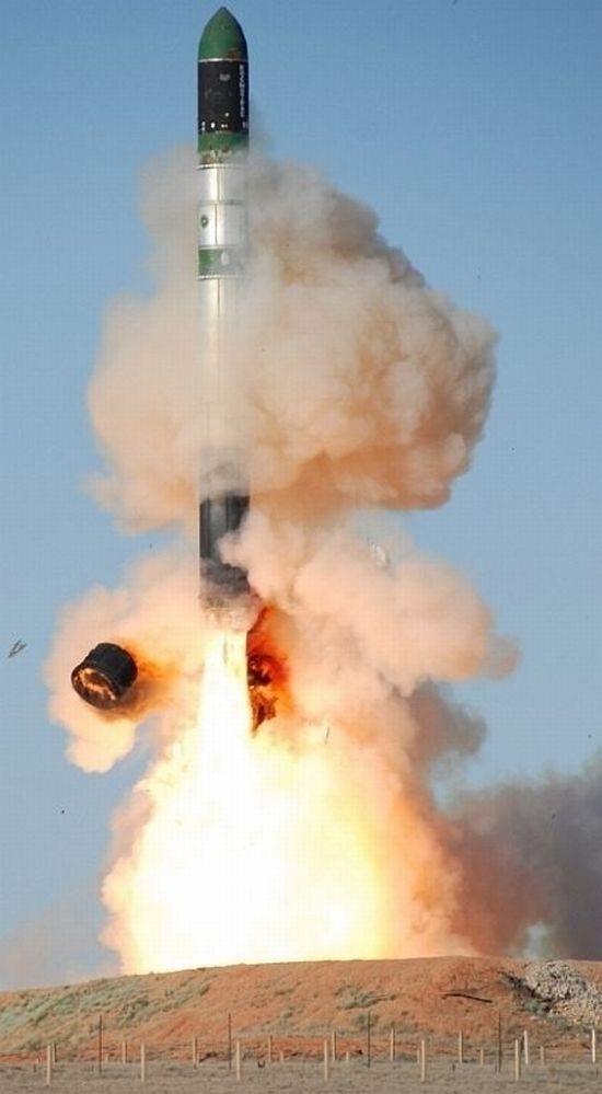 Russian rocket launch 7