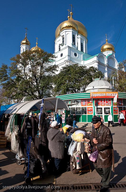 Russian city Rostov, fish market there 18