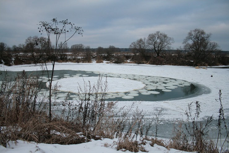 Round ice in Russia 2