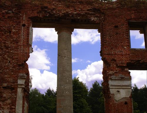 Ruined Country Estate near Moscow 6