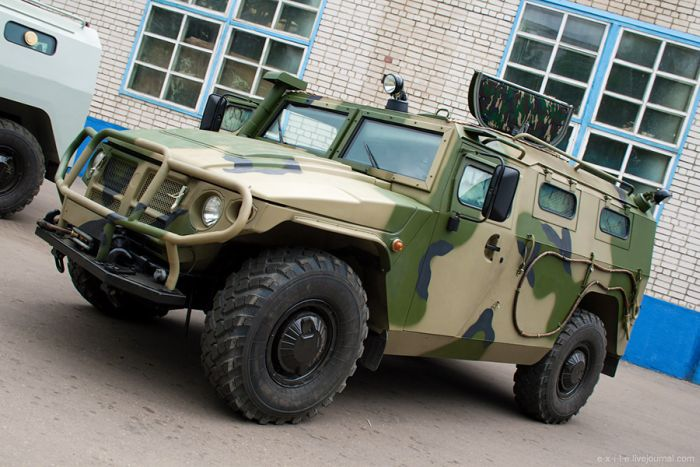 Russian Armored Vehicles Factory
