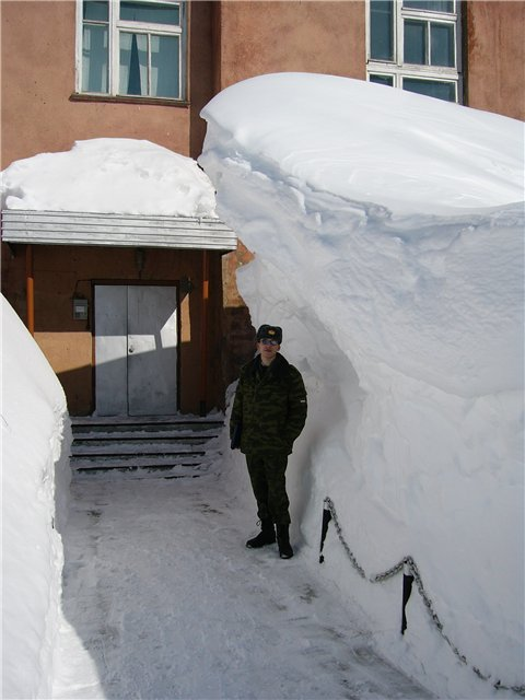 Russian soldiers in Russian winter 3