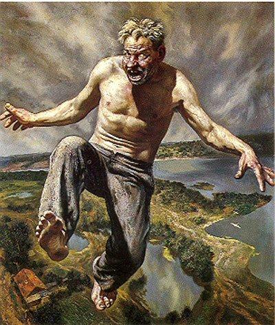 Russian artist, Vasiliy Shulzhenko 1