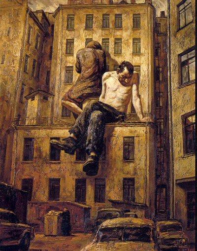 Russian artist, Vasiliy Shulzhenko 13