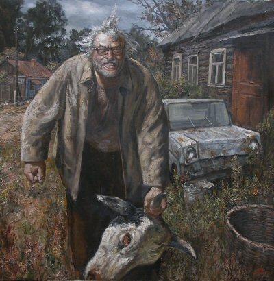 Russian artist, Vasiliy Shulzhenko 3