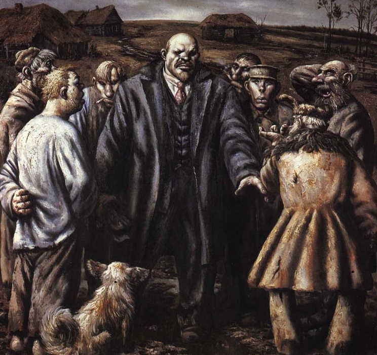 Russian artist, Vasiliy Shulzhenko 9