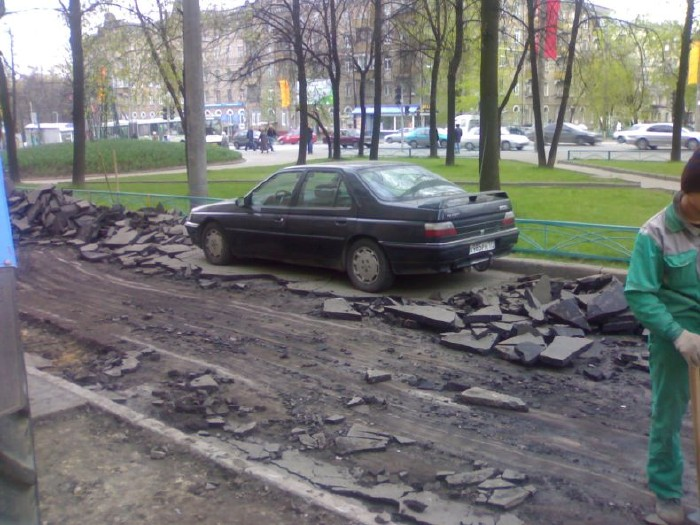 how they put asphalt in moscow 2