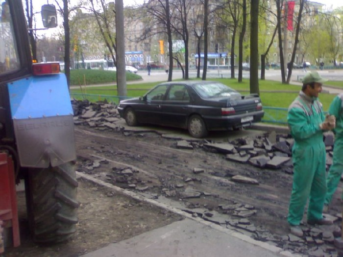 how they put asphalt in moscow 4