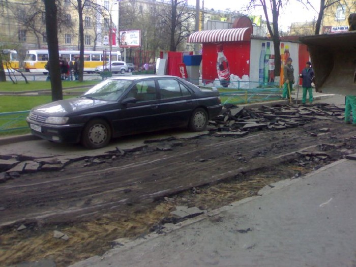 how they put asphalt in moscow 5