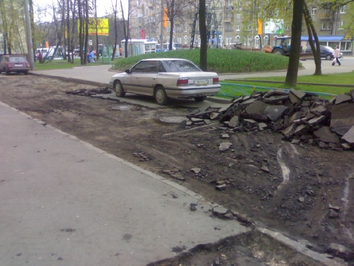 how they put asphalt in moscow 6
