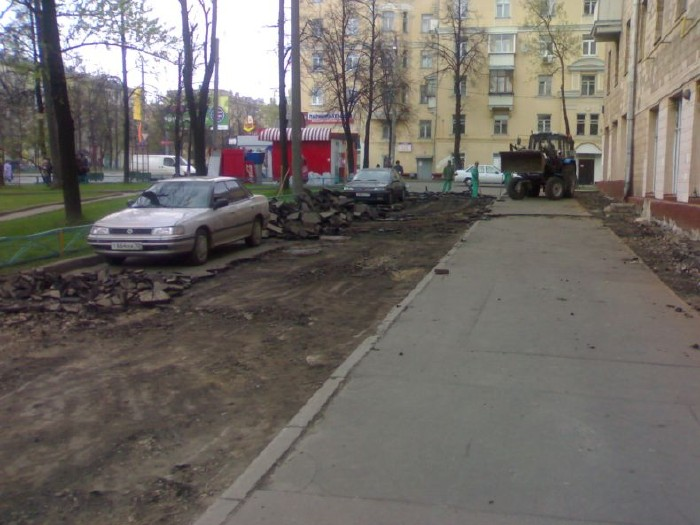 how they put asphalt in moscow 8