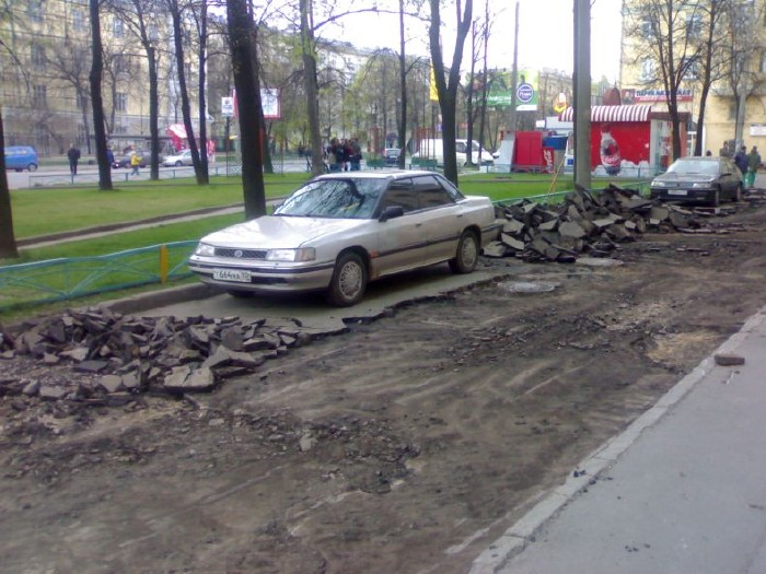 how they put asphalt in moscow 9