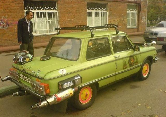 56 Examples of Crazy Russian Car Mods