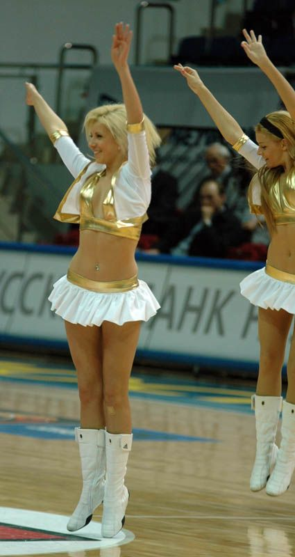 Russian cheerleaders 33