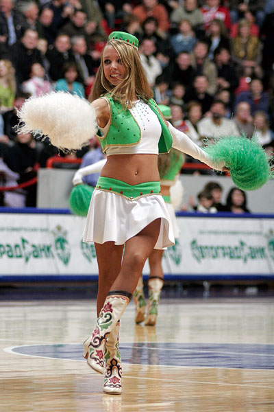 Russian cheerleaders 40