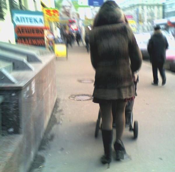 Russian girl, not
