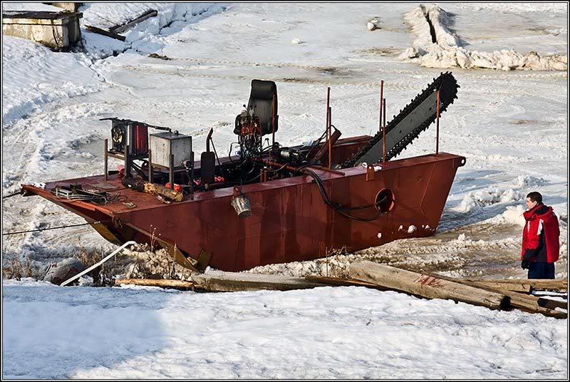 Russian ice saw 2