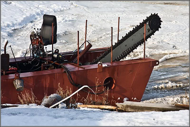 Russian ice saw 3