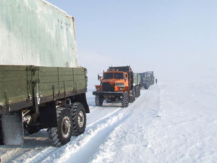 Russian truckers 1