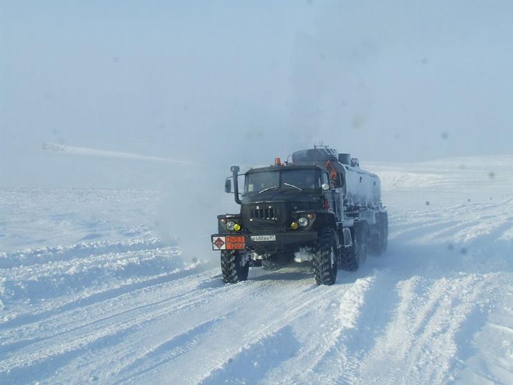Russian truckers 4