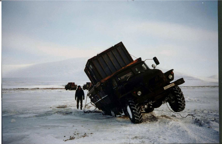Russian truckers 5