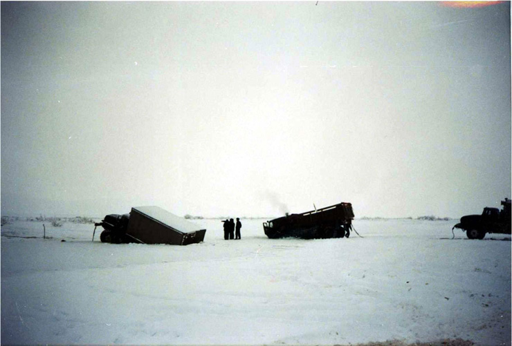 Russian truckers 6
