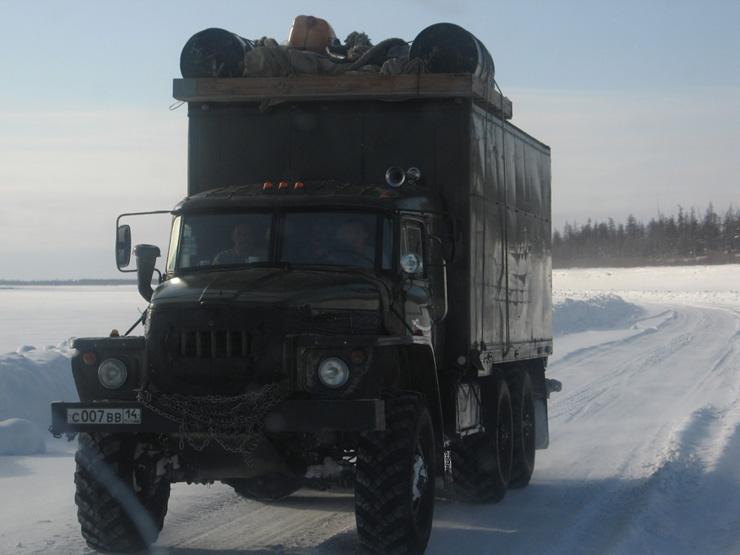 Russian truckers 8