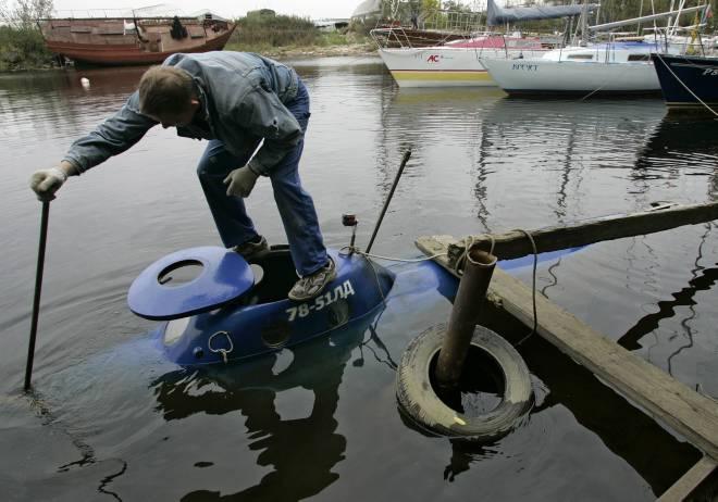 Russian Smallest Submarine