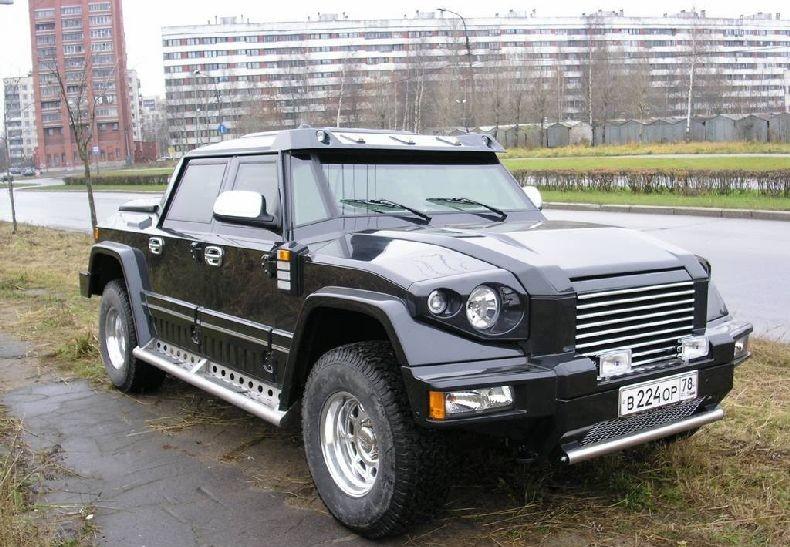 Russian pickup 1