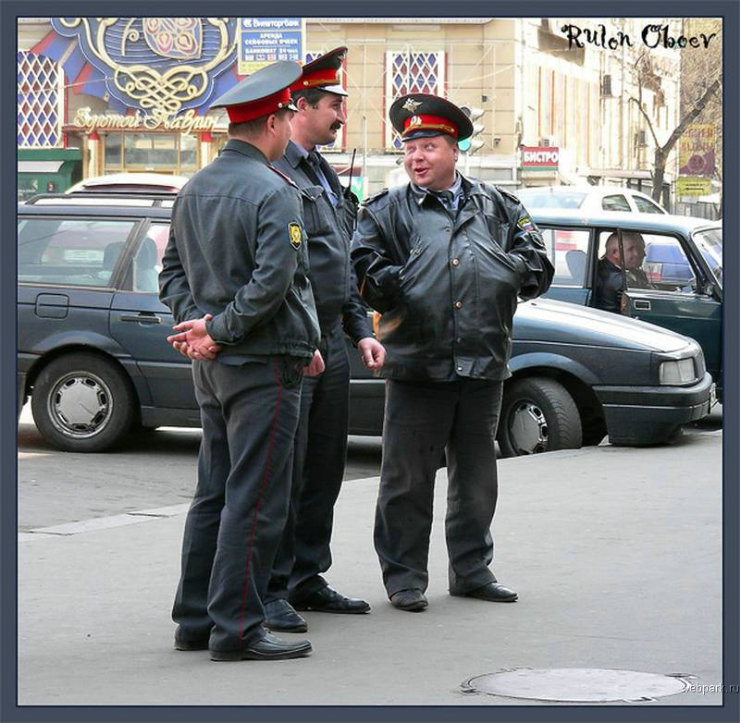 types of russian policemen by rulon oboev 20
