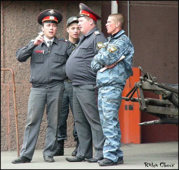 types of russian policemen by rulon oboev 27