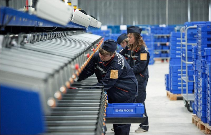 Russian Post - Automatic Letter Sorting 15