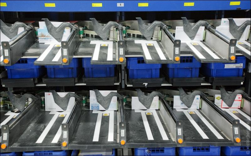 Russian Post - Automatic Letter Sorting 16