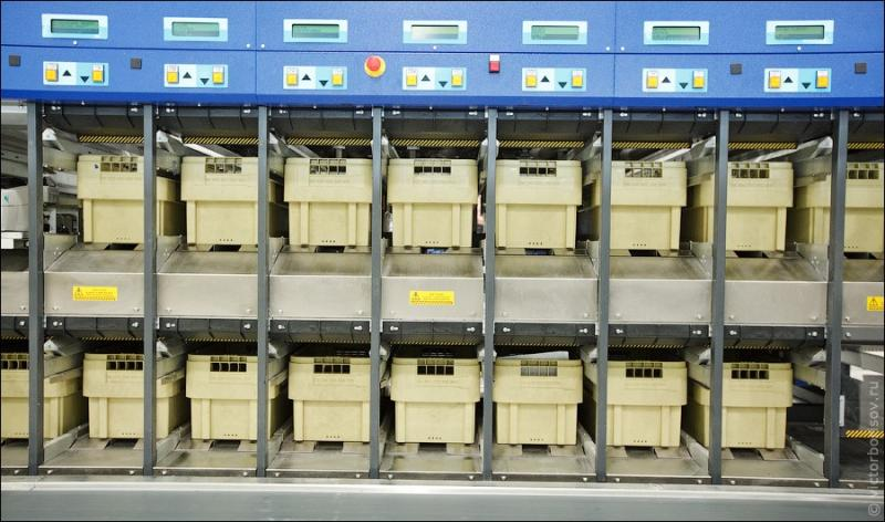 Russian Post - Automatic Letter Sorting 22