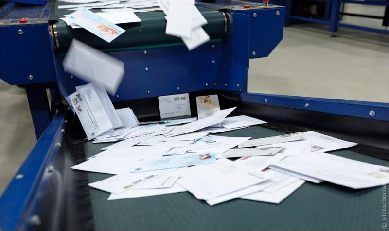 Russian Post - Automatic Letter Sorting 6