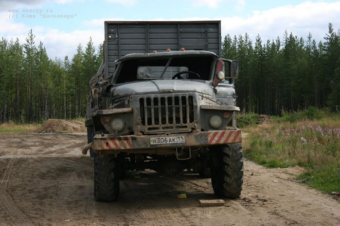 the shots of Russian road 18