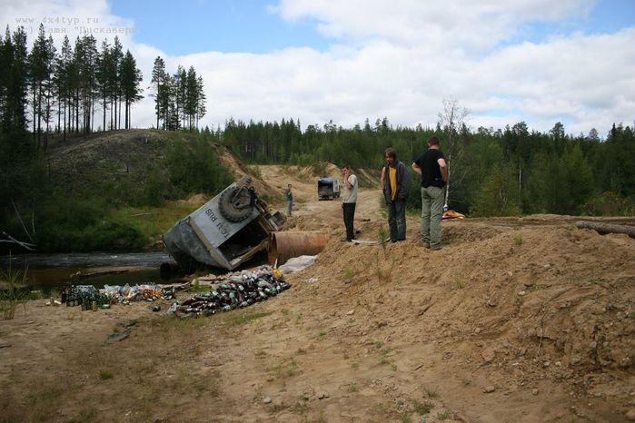 the shots of Russian road 19