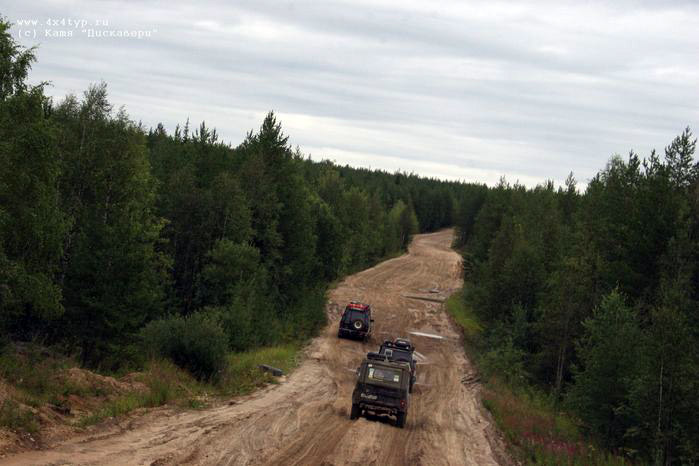 the shots of Russian road 2