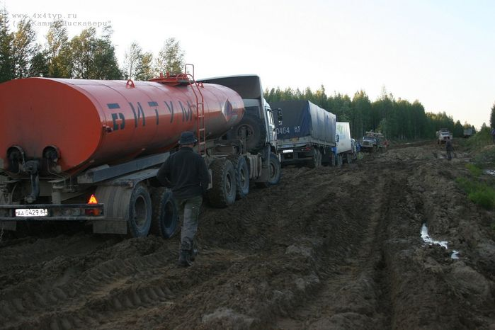 the shots of Russian road 27