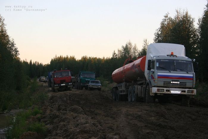 the shots of Russian road 36