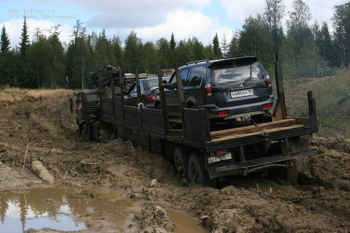 the shots of Russian road 6